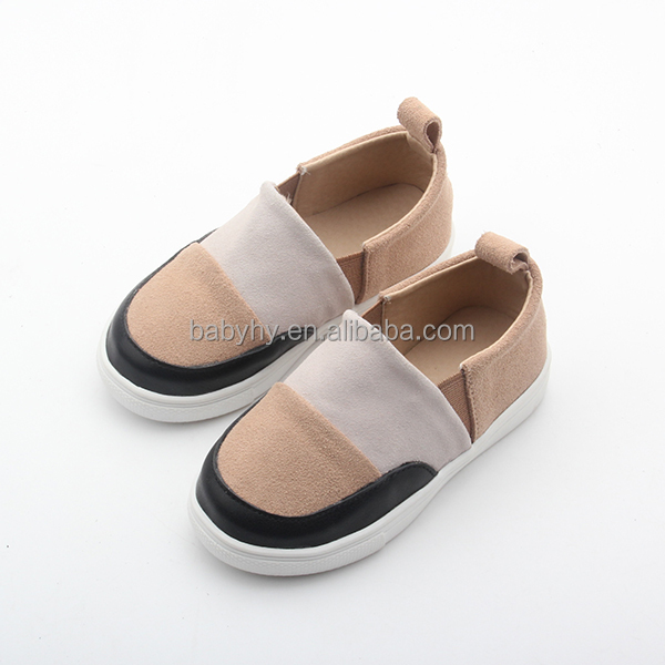 Children Flat kids Casual Shoes Soft Leather New kids footwear