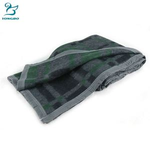 2018 Famous manufacturer super soft jacquard blanket, hotel,airline,houeseuse luxury wool nonwoven blanket