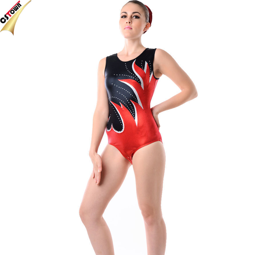 OEM Customized Wholesale Metallic Spandex Gymnastics Dance Leotard