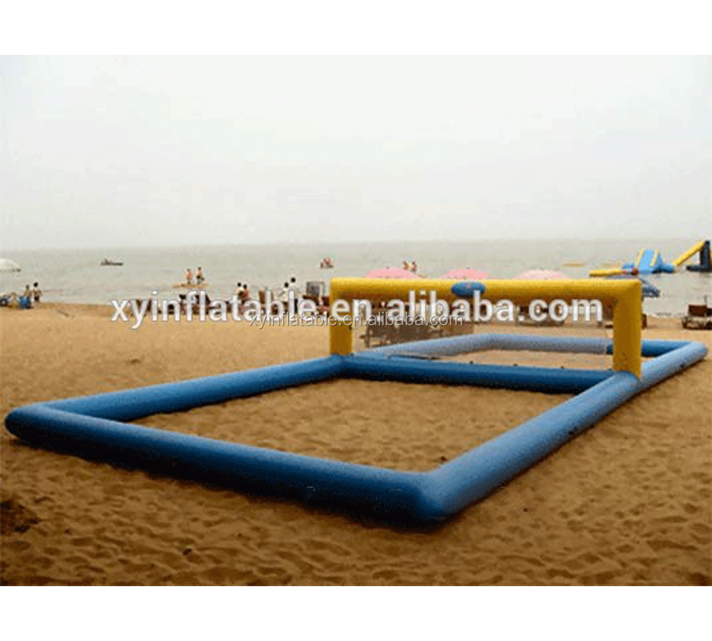 inflatable water volleyball court inflatable water volleyball