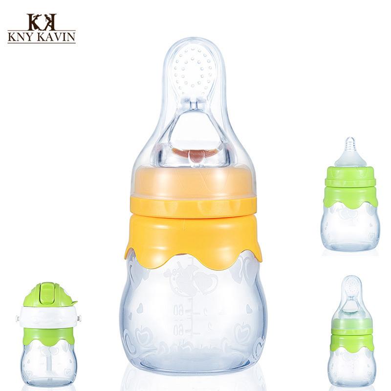 160 мл детская бутылочка кормление, Полипропилен окончательный медленный поток Anantara силикон бутылка Biberon питание ложка HK307