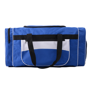 BSCI Sedex 4P Promotion Men Sport duffel Polyester Travel Bag PT-TB01
