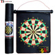 Promotional cheap price custom printed logo 13 inch safe magnetic dartboard dart boards