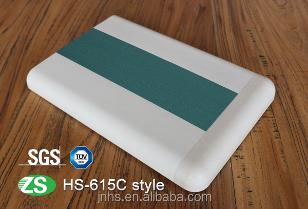PVC Panel Hospital Protective Materials Double Vinyl Aluminum Mounted Corner Guards