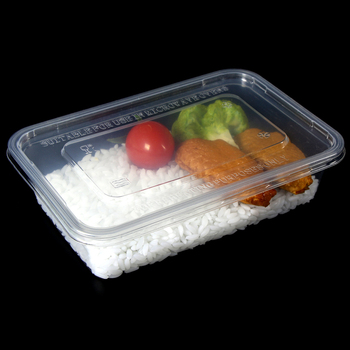 PP disposable plastic food container clear plastic meal prep containers