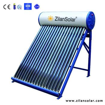 300l alternative energy low pressurized plastic solar for Plastic water heater
