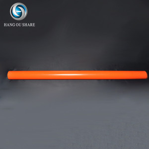 China factory direct sale straight orange HD pvc pipe electrical conduit