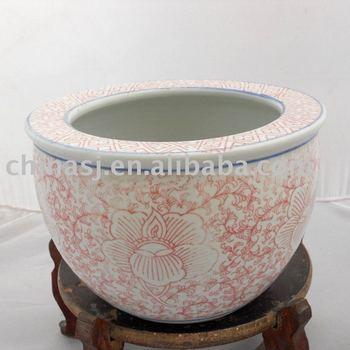 Chinese Porcelain Fish Bowl Or Planter Pink Color Wryhc03 Buy Fish