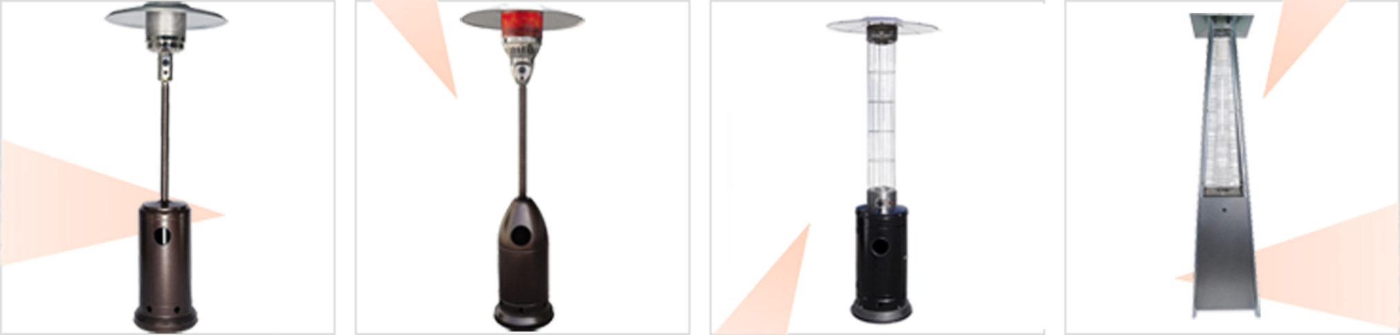 Garden Outdoor Patio Gas Heaters