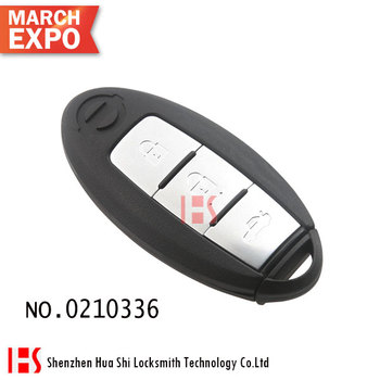 High quality smart remote control key shell (14 years) for Nissa Teana /0210336