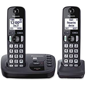 "Panasonic Kx. Tgd222n Dect 6.0 1.90 Ghz Cordless Phone . Champagne Gold . Cordless . 1 X Phone Line . 1 X Handset . Speakerphone . Answering Machine . Caller Id . Yes . Backlight ""Product Type: Phones/Analog & Digital Phones"""