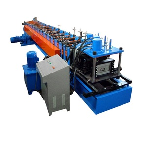 Full automatic c channel steel frame cad roll forming machine