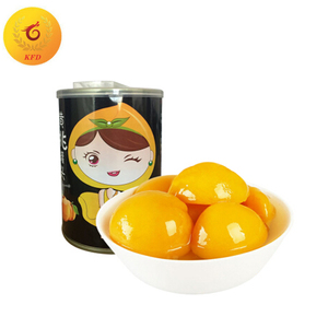 Canned Fresh Yellow Peach in Light Syrup