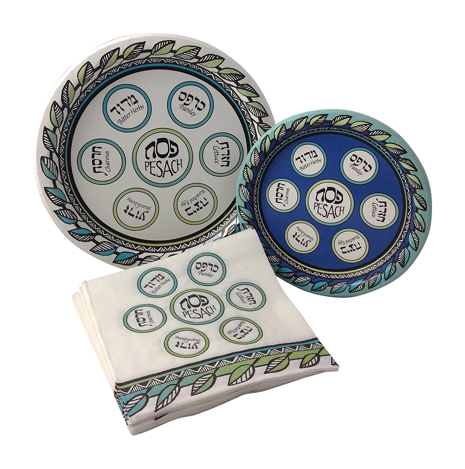 Get Quotations · Passover Seder Party Supply Pack! Bundle Includes Paper Plates u0026 Napkins for 8 Guests  sc 1 st  Alibaba & Cheap Passover Paper Plates find Passover Paper Plates deals on ...