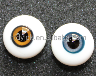 Hot sale high quality customized craft glass eyes for dolls and carvings