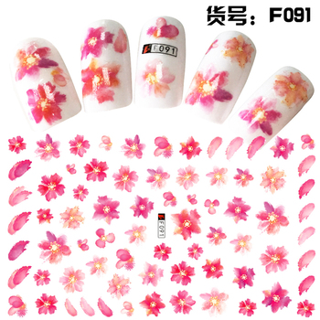 Girls 2d Water Transfer Nail Sticker For Nail Art Buy Water