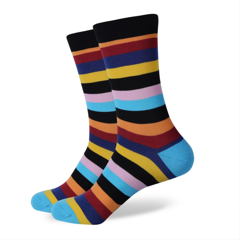 Adorable infant socks in pretty solids and playful stripes and designs have color combinations suitable for boys and girls. Plus they have gentle elastic at the ankles for comfort and staying put. Plus they have gentle elastic at the ankles for comfort and staying put.