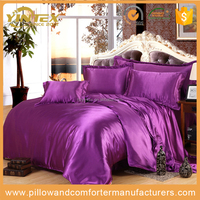 Wholesale 4 pcs Indian Luxury Silk Bedding set Bed linen bedding set