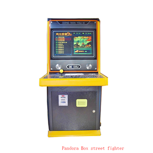 indoor amusement electronic fighter lottery machine Pandora box 3s 4s  fighting redemption game machine