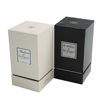 Square Cosmetic Luxury Paper Perfume Bottle Packaging Box Wholesale