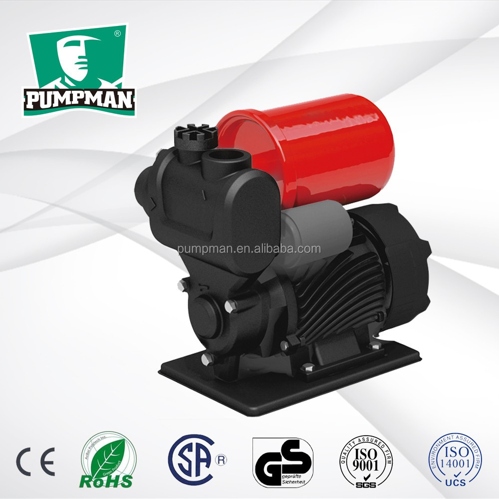 Pumpman 0.5hp 1 inch automatic peripheral pump electrical water pumps