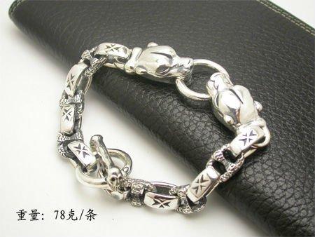 Special Jaguar Head Bracelet / Men's Copper Bracelet