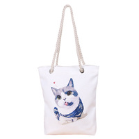 Reusable Customized Cheapest Cotton Shopping Bag Tote Bags Women Handbags