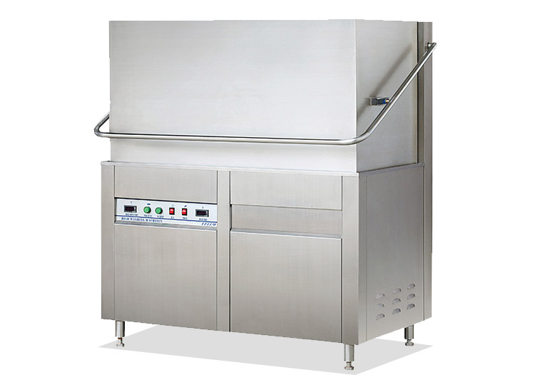 Hotel Restaurant High Quality Hood Type  Industrial Stainless Steel Commercial Dishwasher Machine