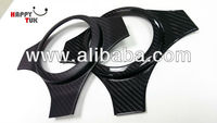 Mitsubishi EVO 7 8 9 Real Carbon Fiber Front Steering Wheel Cover