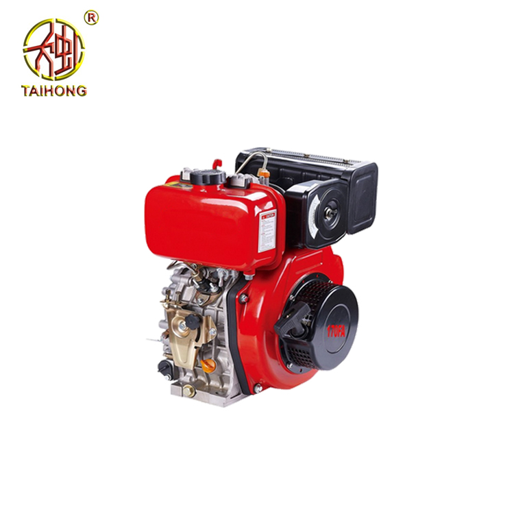 4-Stroke 168F diesel engine motor, 5hp air cooling diesel engine for sale