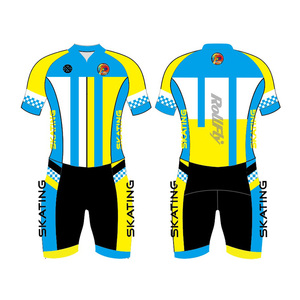 oem wholesale sportswear import from China ice inline speed skate skin suit