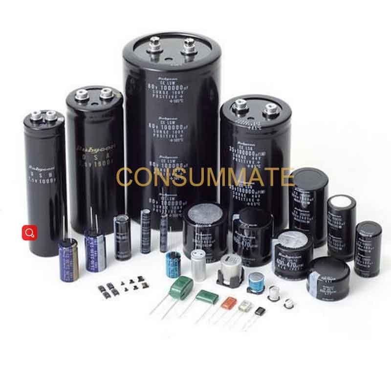 iR A COMPRAR Condensador electrolítico de aluminio para fuente de alimentación.