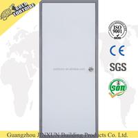 Used commercial flush steel door plain powder coated steel door
