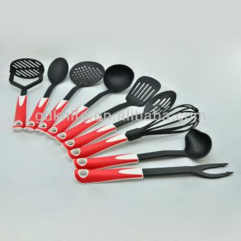 6pcs nylon kitchen utensils kitchenware kitchen tool set for Kitchen tool set of 6pcs sj