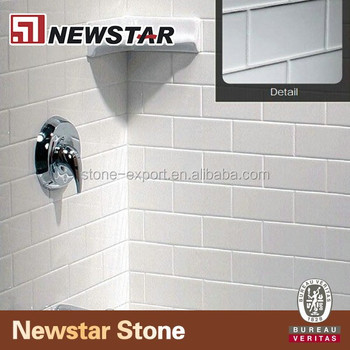 Newstar Installing Cultured Marble Shower Walls Panel With Tray And Dishes