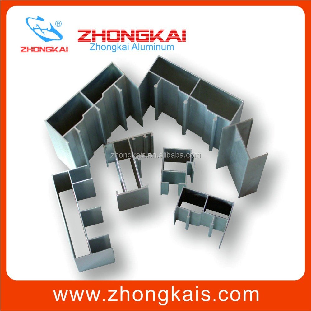 OEM Customized 6063 Extruded Aluminum Profile T5 T6 For Construction Window Door In Indonesia