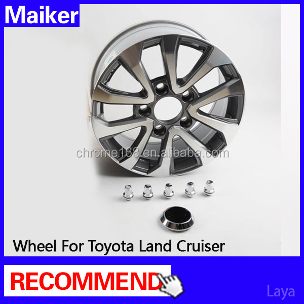 18 inch alloy wheels rims for Toyota Land Cruiser 2008+ wheels off road 4x4
