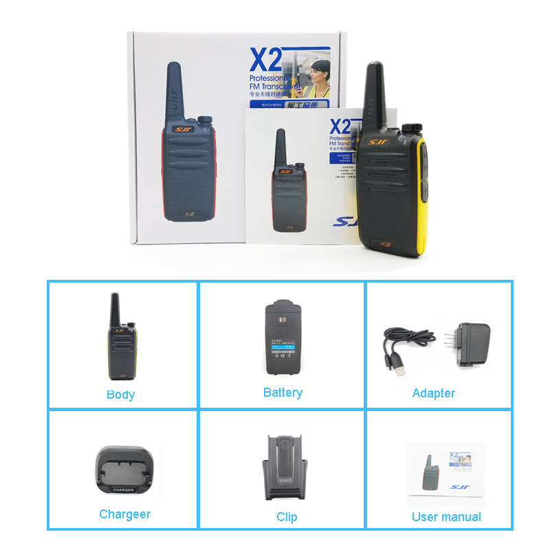 Alibaba Best Seller High Frequency Long Distance 400-470 Mhz Walkie
