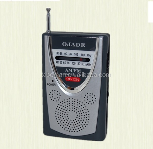 OE - 1201 China supplier Customized battery radio
