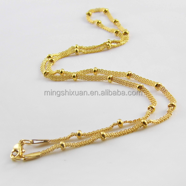 Guangzhou Jewelry wholesale fashion new gold chain design for men
