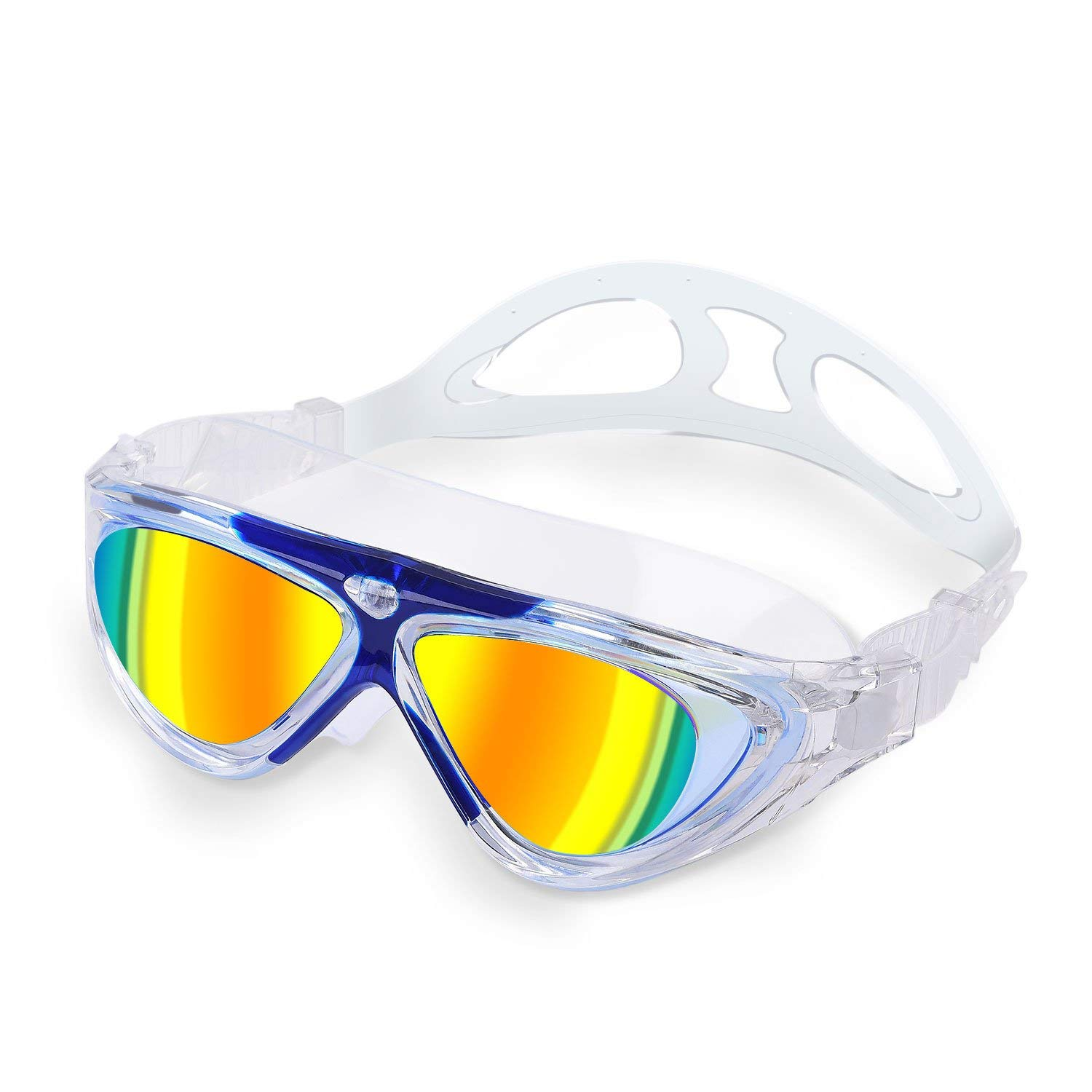 470b75746d5d Get Quotations · AMIABLE HD Swimming Goggles