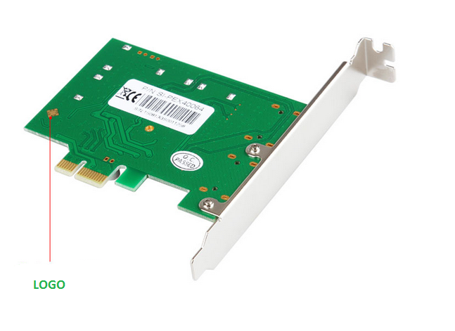 IO Crest Marvell chips PCI-E 4 Port SATA III 6G PCI-e Controller Card