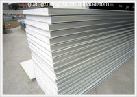Building material Great heat preservation Foam core EPS sandwich wall panel