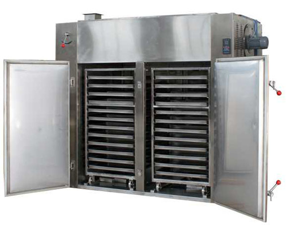 Cabinet type 48 trays stainless steel electric hot air circulation drying machine