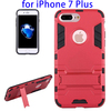 TPU + PC Mobile Phone Hybrid Combo Rugged Case for iPhone 7 Plus
