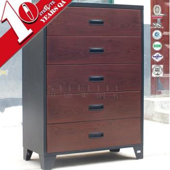 Luoyang Steel Office Furniture Modern Multilayer Flat File Map Cabinet 5 Drawer