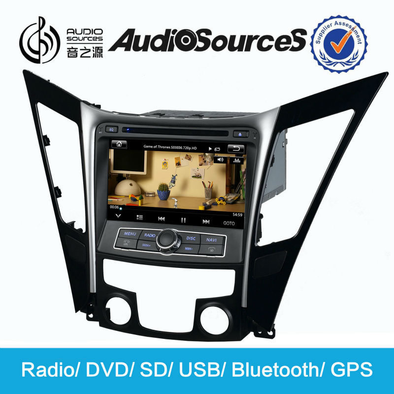 car stereo for hyundai sonata nf car dvd player car monitor with GPS navigation steering wheel control HD video mp3 mp4