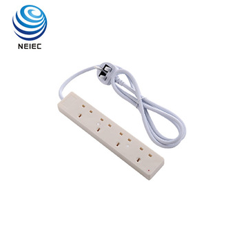 High quality ESMA standard high flame retardant PC shell 4way electrical extension power switch socket with usb