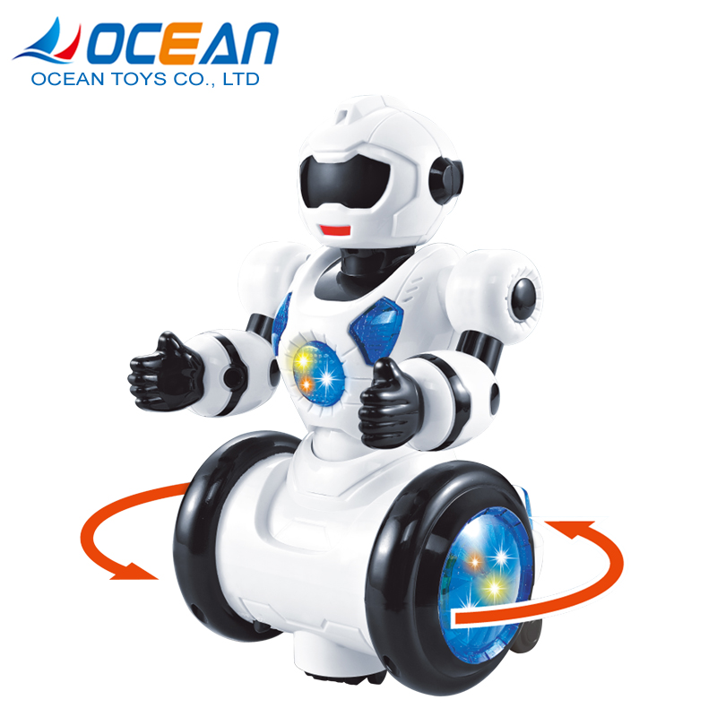 Guangdong multi-function puzzle kids small dancing wholesale toy robot with music