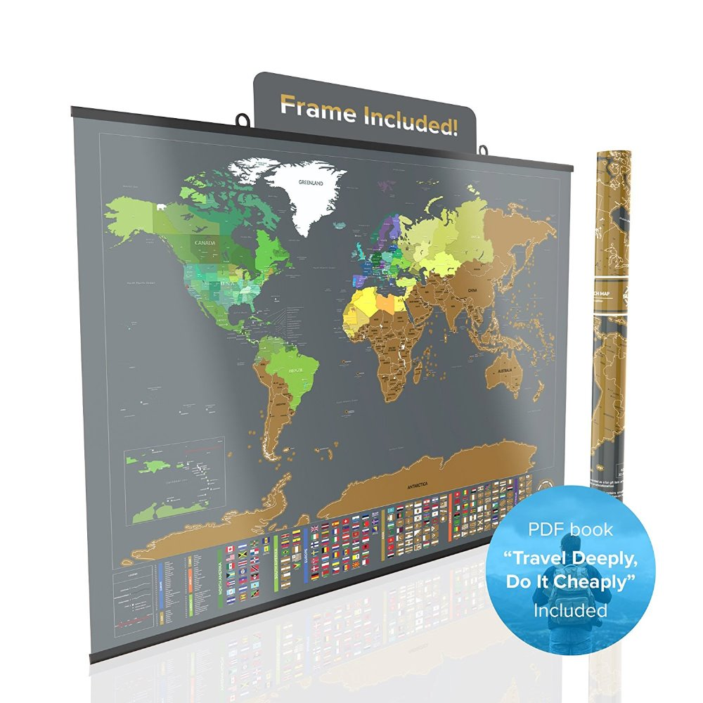 Scratch Off World Map With Us States.Large Scratch Off World Map Poster Etailed Peel Off Map With Us